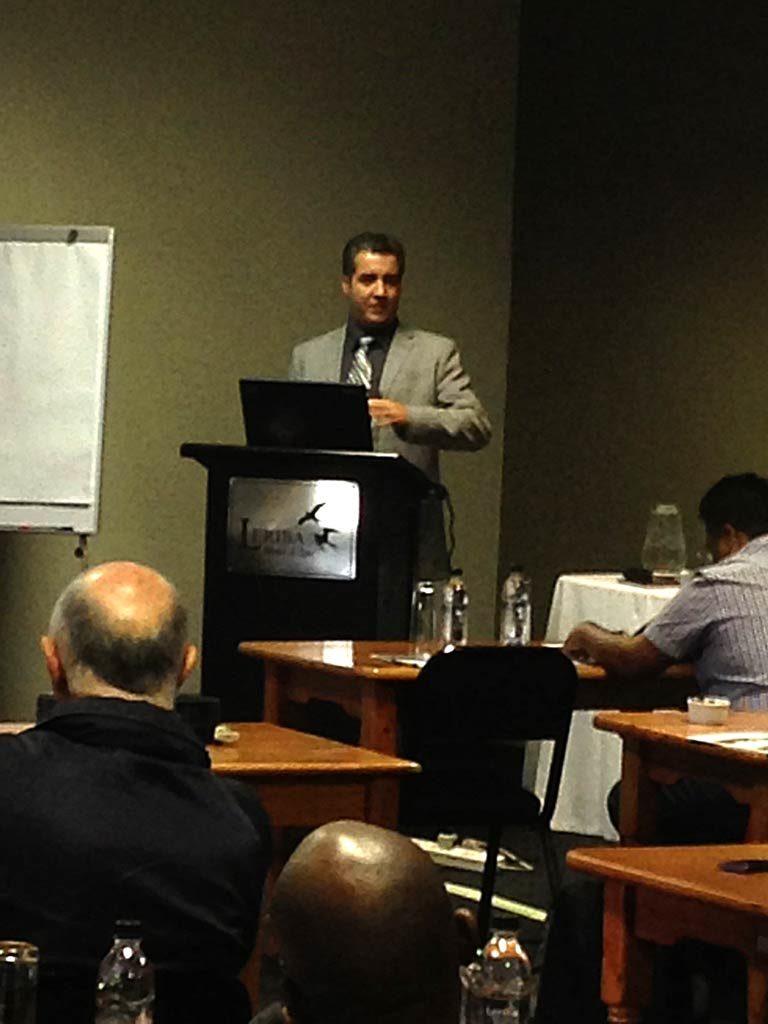 Johannesburg seminar