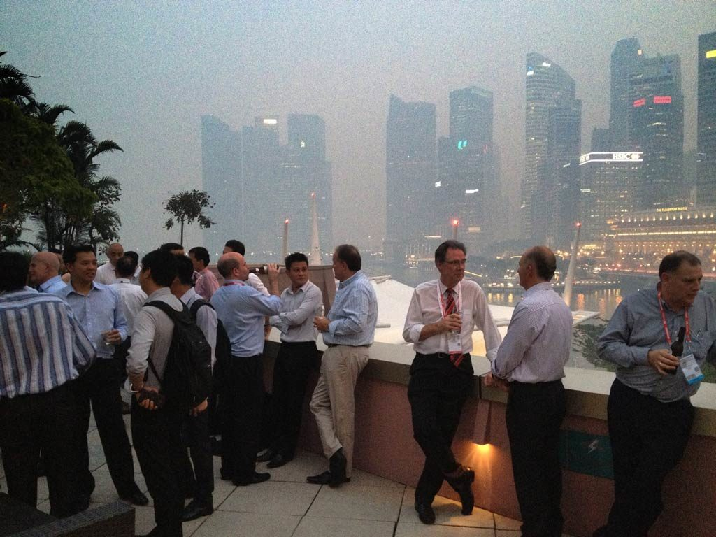 Singapore CommunicAsia Rooftop Cocktail