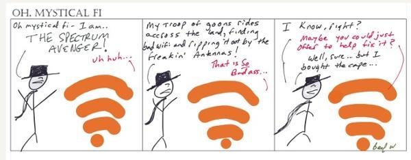 Oh Mystical Wi-Fi