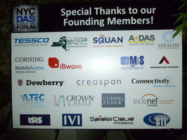 iBwave at the NYC DAS & Small Cell Forum rooftop cocktail