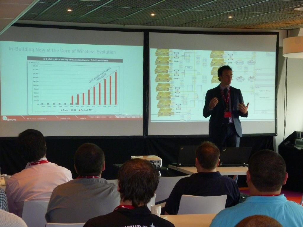 iBwave In-Buiding Seminar at the Amsterdam Arena