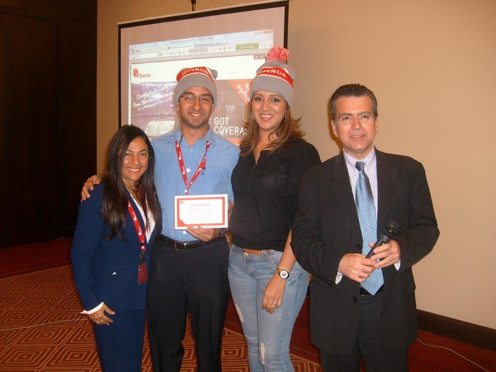 iBwave Latin America's in-building seminar