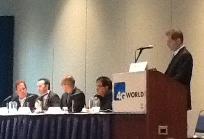 4G World exhibition and conference in Chicago