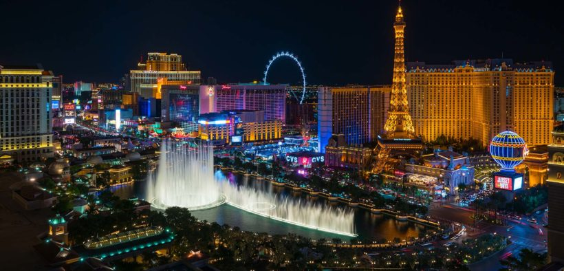 Just the right amount of Vegas… A night to remember!