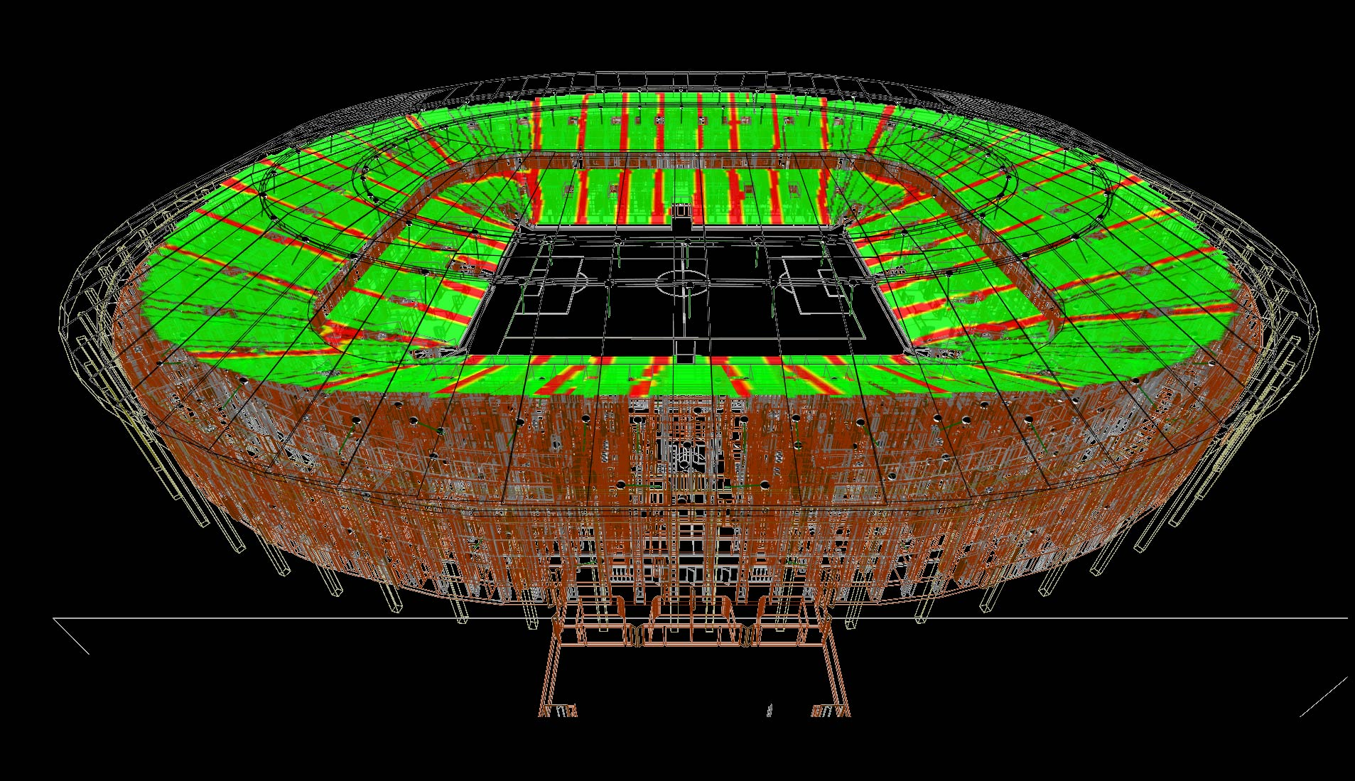 iBwave Wi-Fi Release 12: 3D Stadium feature