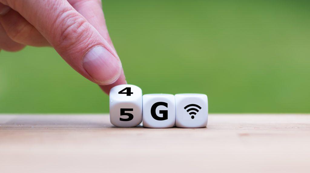 The 5G era has begun.