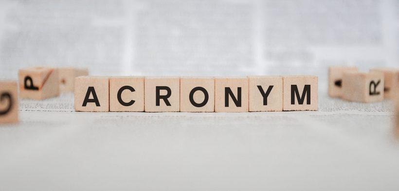 blog acronyms banner