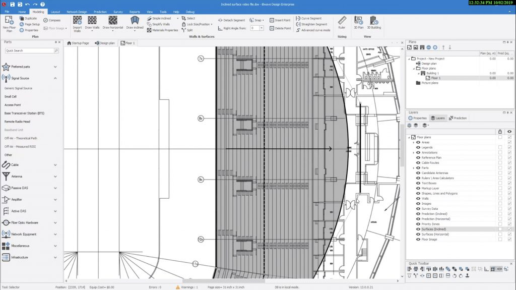 Large Complex Venue Design in iBwave Release 13